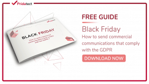 black friday gdpr
