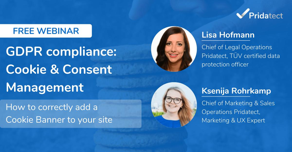 gdpr compliance cookie consent management